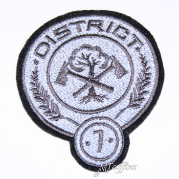 Hunger Games District 7 Iron On Patch Mtcoffinz 720